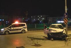 Amasyada trafik kazası