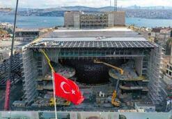 Yeni Atatürk Kültür Merkezi inşaatının yüzde 78i tamamlandı