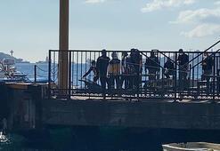 Ortaköy'de denizden erkek cesedi çıktı