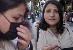 Maske takmayan kadından akılalmaz sözler Allah beni koruyor