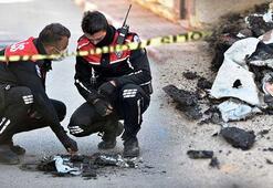 Yunus polisi üniforması ve teçhizatı yakıldı