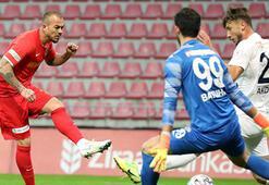 Hekimoğlu Trabzon, Kayserisporu kupa dışında bıraktı