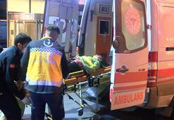 Şişlide otelin penceresinden düşen kadın yaralandı