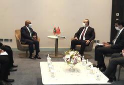 Çavuşoğlu, Nijerde Maldivler ve Çadlı mevkidaşlarıyla görüştü