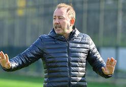 Sergen Yalçın: Fenerbahçeyi yenmeye gidiyoruz