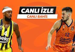 Fenerbahçe Beko - Valencia Basket canlı bahis heyecanı Misli.comda