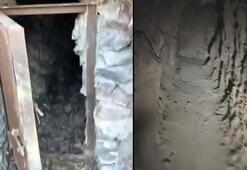PKKnın karargah olarak kullandığı 8 odalı mağara imhaedildi
