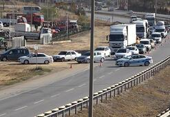 43 ilin geçiş güzergahında boru patladı Yol trafiğe kapatıldı