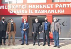 Başkan Çerçi, MHP ve CHP'yi ziyaret etti