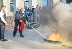 Belediye personeli acil durumlara hazır
