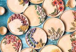 Evinize çiçek açtıran tabaklar