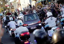 Maradonanın cenazesinde gözyaşı ve kaos