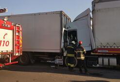 Anadolu Otoyolunda kaza İstanbul yönü ulaşıma kapandı