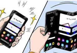 Samsung geleceğin katlanabilir telefonlarını duyurdu
