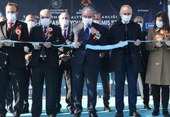 TBMM Başkanı Şentop, Tekirdağ-Hayrabolu Yolu Kandamış Kesimi Açılış  Törenine katıldı