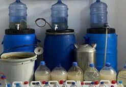 İzmirde 462 litre kaçak içki ele geçirildi