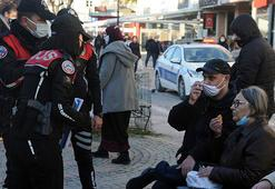 Komşunun akın ettiği Edirnede, Bulgarca anonslarla koronavirüs uyarısı