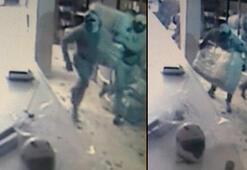 30 bin TLlik hırsızlık Alarma aldırış etmeden soydular