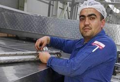 Kafasını kek makinesine kaptıran işçi feci şekilde can verdi