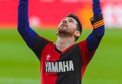 Barcelonada Messi golünü attı, Maradonayı böyle andı