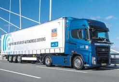 Sürücüsüz kamyon için yeni proje