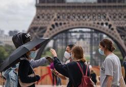 Fransada son 24 saatte 9 bin 784 Kovid-19 vakası tespit edildi