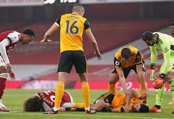 Arsenal Wolverhamptona kaybetti Jimenez korkuttu...