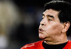 Maradonanın kızı Dalma gözyaşlarına boğuldu Duygu yüklü maç...