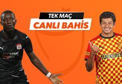 Sivasspor - Göztepe Tek Maç ve Canlı Bahis seçenekleriyle Misli.com'da