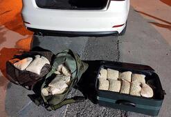 Mersinde, 66 kilo uyuşturucu hap ele geçirildi