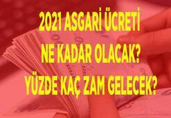 SON DAKİKA    2021 Asgari ücret ne kadar olacak Asgari ücrete ne kadar zam gelecek