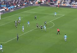Kevin De Bruyneden Newcastle Uniteda harika gol...