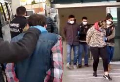 Zehir tacirleri kıskıvrak 9 kişi tutuklandı