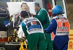 F1 pilotu Grosjean, Sakhir Grand Prixsinde yarışamayacak
