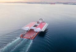 700 tonluk dev Geliboluya getirildi