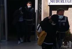 İzmirde aynı gece 3 araç çalan 2 zanlı tutuklandı