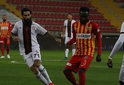 Kayserispor - Fatih Karagümrük: 0-0