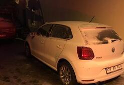 İstanbula çok yakın Kar yağışı etkisini gösterdi