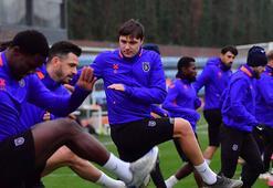 Medipol Başakşehirde Leipzig maçı hazırlıkları