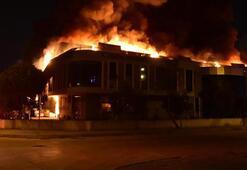 Saat 00.30da başladı Korkutan yangın kontrol altında