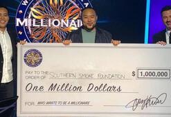 Yarışma tarihinde ilk... 1 milyon dolar kazandı