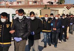 Adanada 28 firari hükümlü şafak operasyonuyla yakalandı