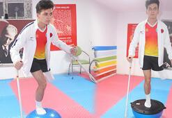 Protezini yeniletmek için gittiği yerde tanıştığı sporda milli takıma seçildi