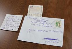 Parası olmadan kabul edildiği halk otobüsünün ücretini mektupla gönderdi