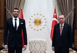Cumhurbaşkanı Erdoğan, Emre Sakçıyı kabul etti