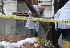 İnşaat alanında erkek cesedi bulundu