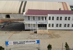 Necat Gülsevenin eşi Ebru Yaşar adına yaptırdığı okul tamamlandı