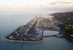 Rize-Artvin Havalimanında altyapı çalışmalarının yüzde 85i tamamlandı