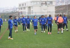 Trabzonspor, Sivasspor hazırlıklarını sürdürdü
