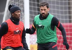 Galatasarayda Muslera, Saracchi ve Falcao bireysel çalıştı